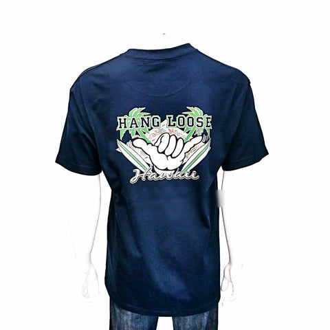 Hang Loose Hawaii Tee ~ Navy