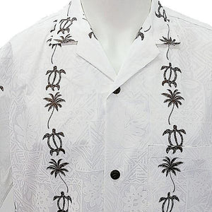 Men's Honu Panel Aloha Shirt