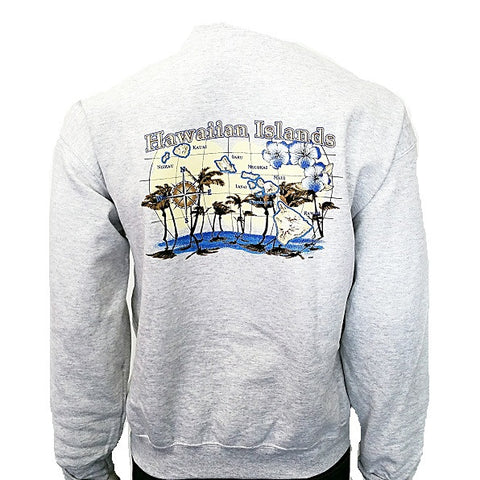 Hawaiian Islands Sweatshirt