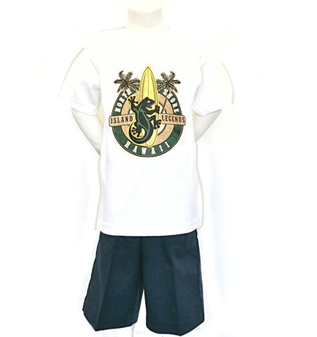Hawaii North Shore Gecko Boy's T-shirt - HC42-2