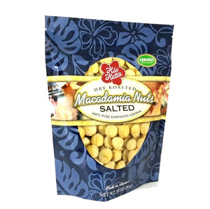 Hilo Hattie Dry Roasted Salted Macadamia Nuts 10 oz. Foil Pouch