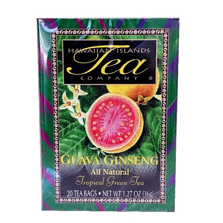 Guava ginseng tropical green tea hilo hattie the store for Maui divers jewelry waikiki