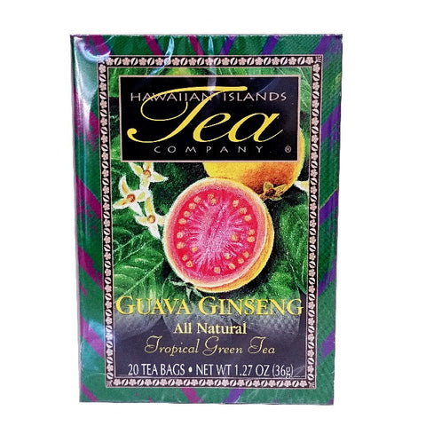 Guava Ginseng Tropical Green Tea