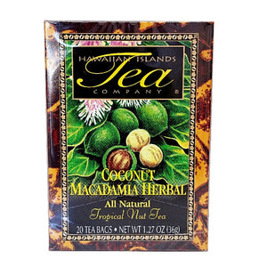 Coconut Macadamia Nut Herbal Tropical Tea