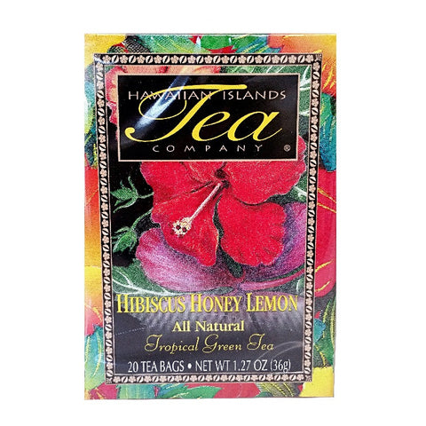 Hibiscus Honey Lemon Tropical Green Tea