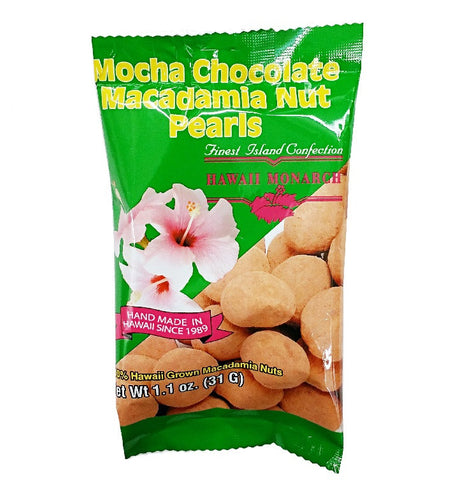 Mocha Chocolate Macadmia Nut Pearls