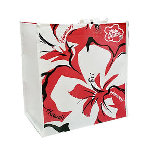 Hilo Hattie Hibiscus Eco Tote Bag Red