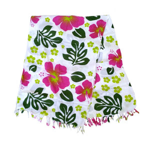Hawaiian Spring Mix Long Sarong