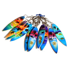 "10-Pack ""Surfboard"" Keychain"