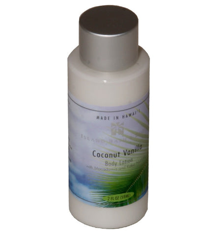 Island Bath & Body Coconut Vanilla Body Lotion 2oz.