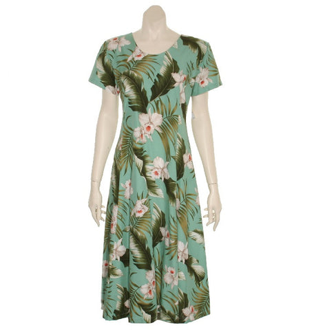 Hawaiian Princess Dress 54904-TS033 ~ Green