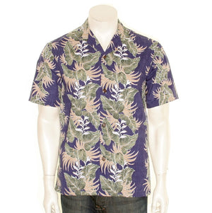 Monstera Panel Aloha Shirt