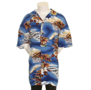 Blue Hawaii Boy's Aloha Shirt