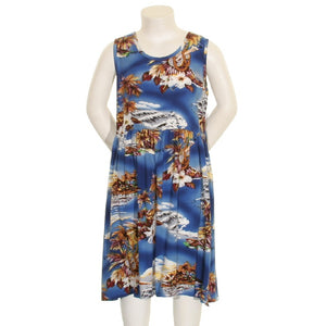 Blue Hawaii Girls Dress