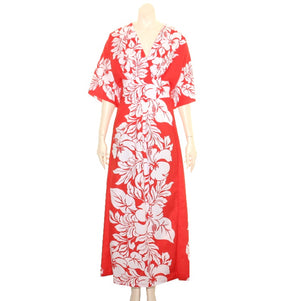 New Hibiscus Palm Caftan