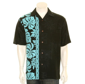 NEW Prince Kuhio Aloha Shirt - Black/Blue