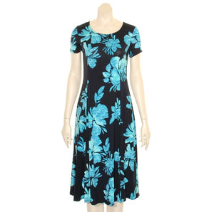 Summer's Fashion Round Neck Mid-Length Dress