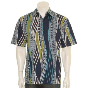 Tribal Panel Aloha Shirt