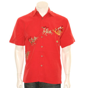 "Bamboo Cay ""December 24 - December 25"" - Men's Aloha Shirt (SN1902)"