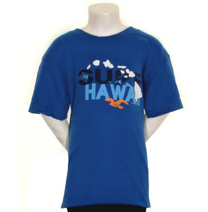 Surf Hawaii Boy's T-shirt - HC45-9