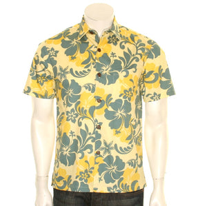 Hibiscus Slim Fit Aloha Shirt