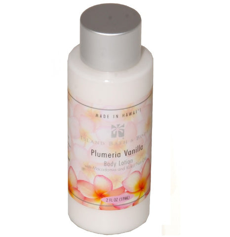 Island Bath & Body Plumeria Vanilla Body Lotion 2oz.