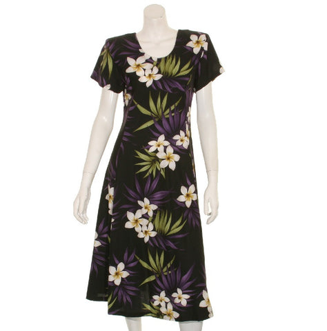Hawaiian Princess Dress 54904  ~ Black