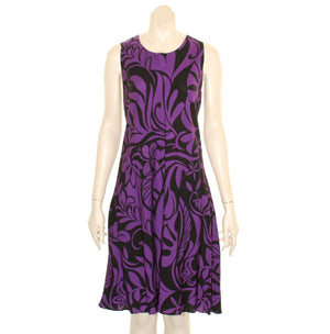 New Tiare Swirl Short Dress