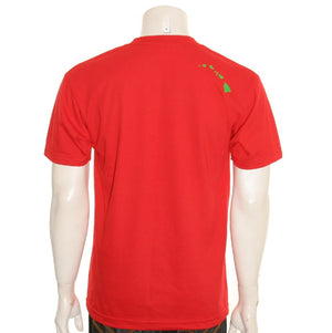 Aloha Wreath Men's Tee (SA5-2)~ Red
