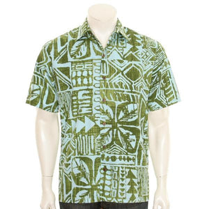 Tapa Box Men's Aloha Shirt