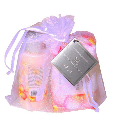 Island Bath & Body Plumeria Vanilla Spa Sampler Gift Set