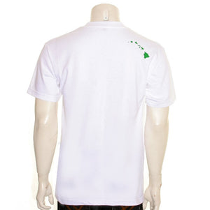 Aloha Wreath Men's Tee (SA5-2)~ White