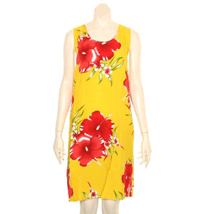 Island Tye Dye Tank Dress(110440) ~ Yellow 2