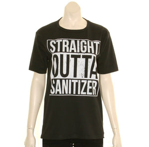 Straight Outta Sanitizer Women's T-Shirt - Black