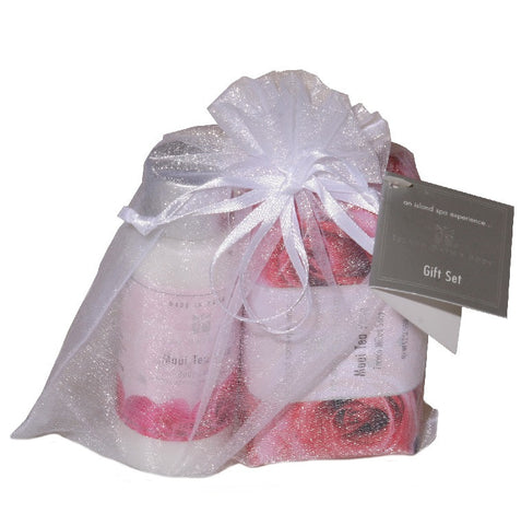 Island Bath & Body Maui Tea Rose Spa Sampler Gift Set