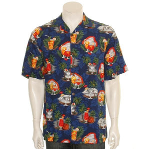 Hilo Hattie Tropical Martini Men's Aloha Shirt