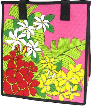 Kaimuki Pink  Medium Insulated Hot/Cold Reusable Bag