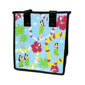 Keiki Hula Sky Petite Hawaiian Insulated Hot/Cold Reusable Bag