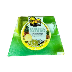 Bubble Shack Pineapple Key Lime & Coconut Chunk Soap