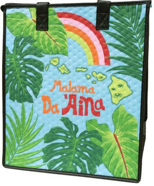 Malama Sky  Insulated Hot/Cold Reusable Bag ~ Large