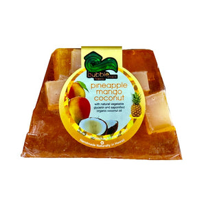 Bubble Shack Pineapple Mango Coconut Chunk Soap