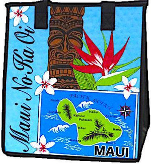 Maui No Ka Oi  Insulated Hot/Cold Reusable Bag~Medium
