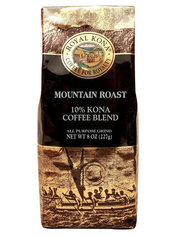 Royal Kona 10% Blend - Mountain Roast (8oz)