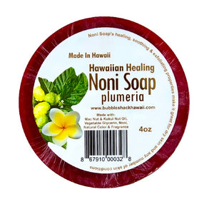 Bubble Shack Noni Soap - Plumeria - 4oz