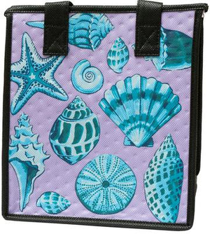 Sea Major Purple Petite Hawaiian Insulated Hot/Cold Reusable Bag