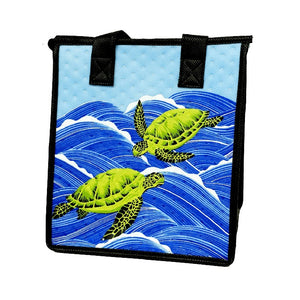 Sea Mist Sky Petite Hawaiian Insulated Hot/Cold Reusable Bag