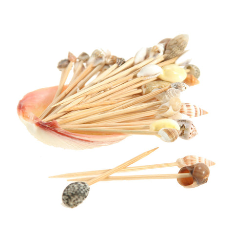 Hawaiian Seashell Toothpicks