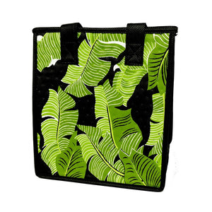 Soiree Black Petite Hawaiian Insulated Hot/Cold Reusable Bag
