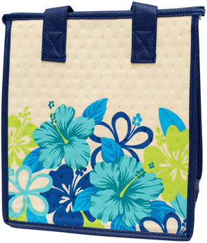 Smitten Blue Petite Hawaiian Insulated Hot/Cold Reusable Bag