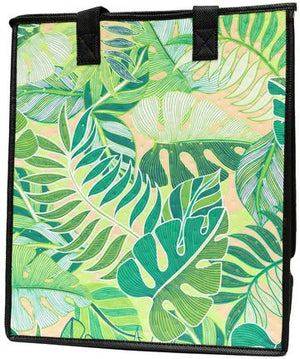 Organic Green  Insulated Hot/Cold Reusable Bag ~ Large